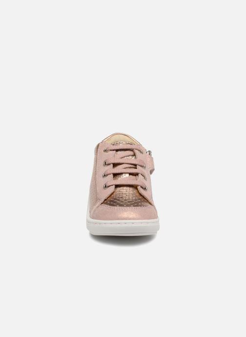 Baskets Shoo Pom Bouba Zip Box Rose vue portées chaussures