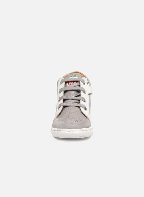 Baskets Shoo Pom Bouba Zip Box Gris vue portées chaussures