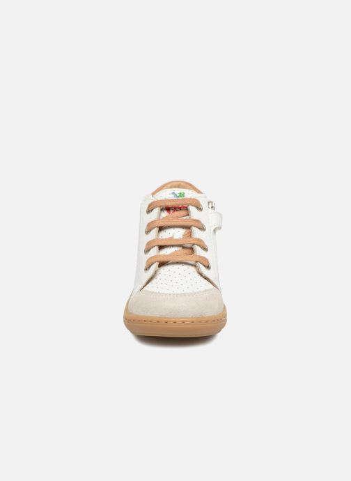 Baskets Shoo Pom Bouba Zip Box Blanc vue portées chaussures