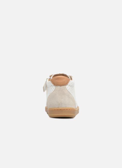 Baskets Shoo Pom Bouba Zip Box Blanc vue droite