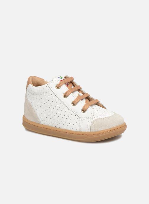 Baskets Shoo Pom Bouba Zip Box Blanc vue détail/paire