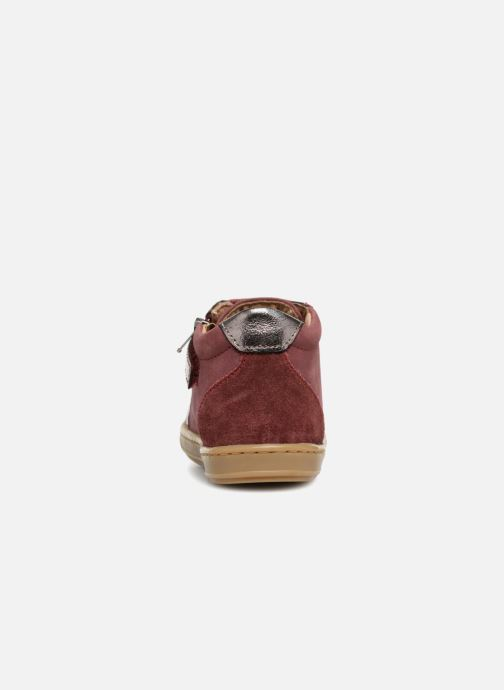 Sneakers Shoo Pom Bouba Zip Box Bordeaux rechts