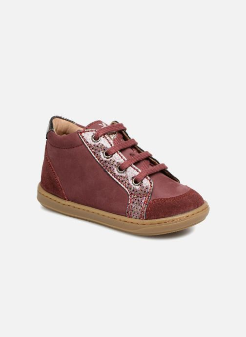 Sneakers Shoo Pom Bouba Zip Box Bordeaux detail