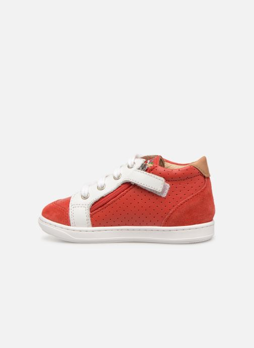 Baskets Shoo Pom Bouba Zip Box Rouge vue face