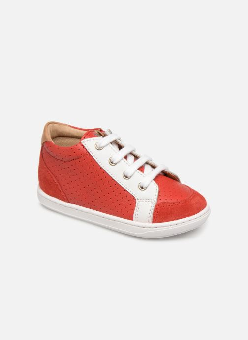 Baskets Shoo Pom Bouba Zip Box Rouge vue détail/paire