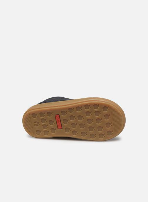 Baskets Shoo Pom Bouba Zip Box Bleu vue haut
