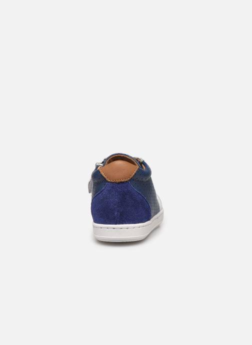 Baskets Shoo Pom Bouba Zip Box Bleu vue droite