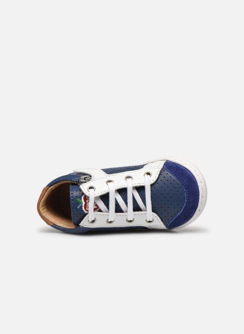 Baskets Shoo Pom Bouba Zip Box Bleu vue gauche