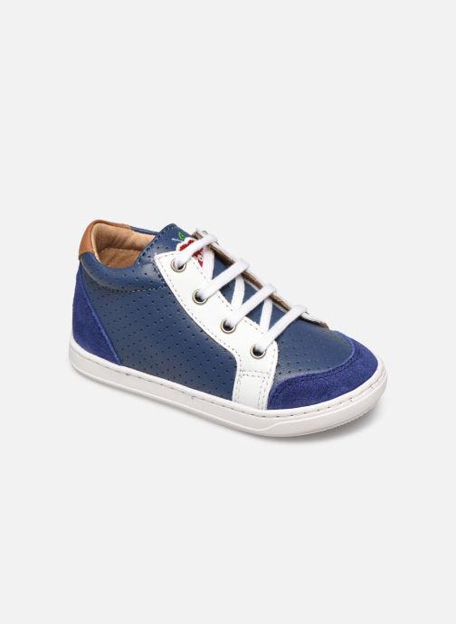 Baskets Shoo Pom Bouba Zip Box Bleu vue détail/paire