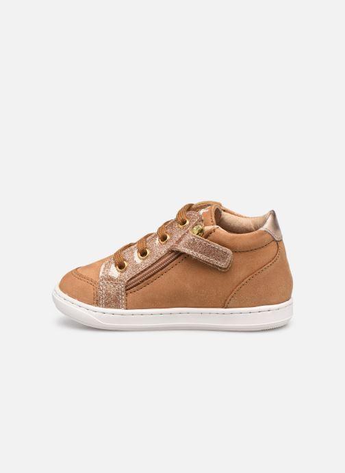 Sneaker Shoo Pom Bouba Zip Box braun ansicht von vorne