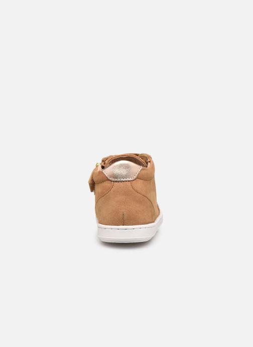 Sneaker Shoo Pom Bouba Zip Box braun ansicht von rechts