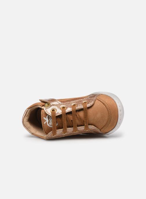 Sneaker Shoo Pom Bouba Zip Box braun ansicht von links