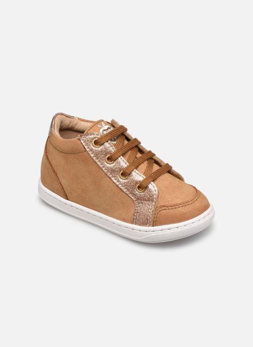 Sneaker Shoo Pom Bouba Zip Box braun detaillierte ansicht/modell