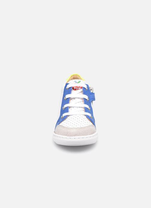 Sneaker Shoo Pom Bouba Zip Box weiß schuhe getragen