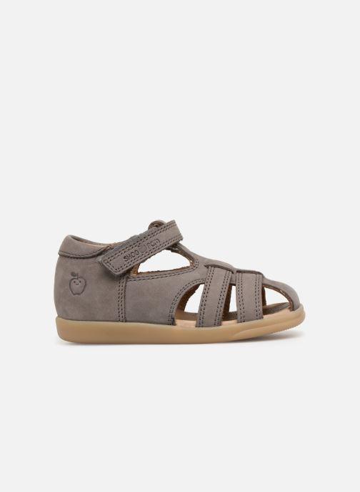 Sandales et nu-pieds Shoo Pom Pika Be Boy Gris vue derrière