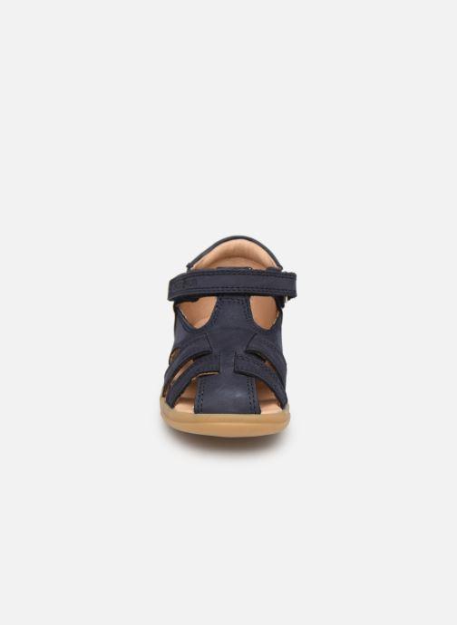Sandales et nu-pieds Shoo Pom Pika Be Boy Bleu vue portées chaussures