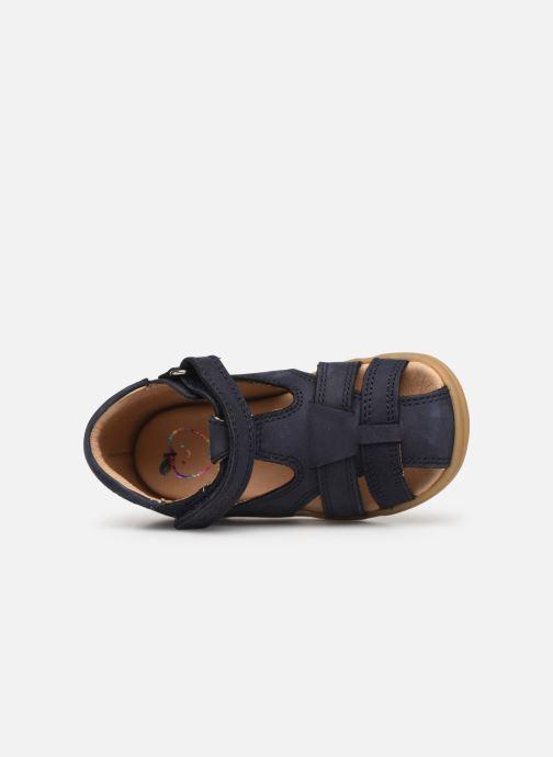 Sandales et nu-pieds Shoo Pom Pika Be Boy Bleu vue gauche