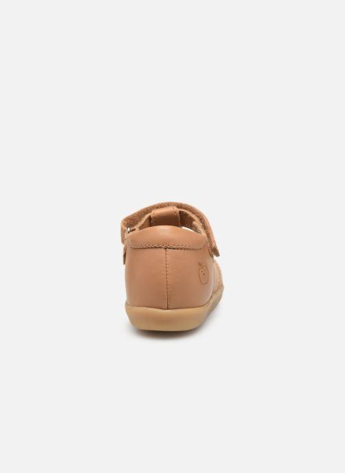 Sandales et nu-pieds Shoo Pom Pika Be Boy Marron vue droite