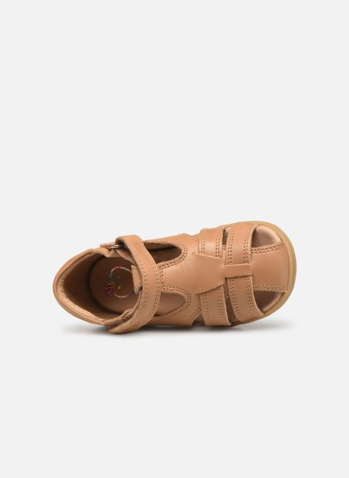Sandales et nu-pieds Shoo Pom Pika Be Boy Marron vue gauche