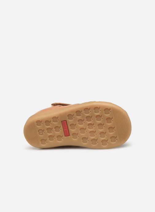 Sandales et nu-pieds Shoo Pom Pika Be Boy Marron vue haut