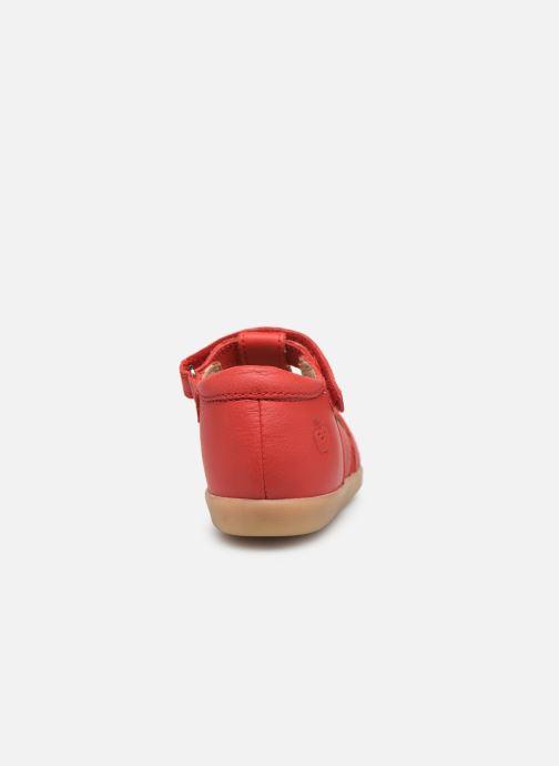 Sandales et nu-pieds Shoo Pom Pika Be Boy Rouge vue droite