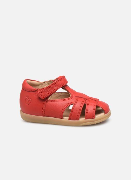 Sandales et nu-pieds Shoo Pom Pika Be Boy Rouge vue derrière