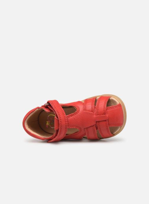 Sandales et nu-pieds Shoo Pom Pika Be Boy Rouge vue gauche
