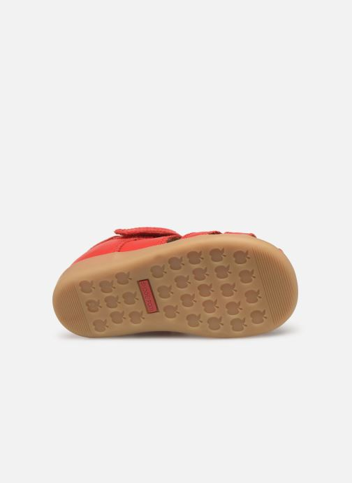 Sandals Shoo Pom Pika Be Boy Red view from above