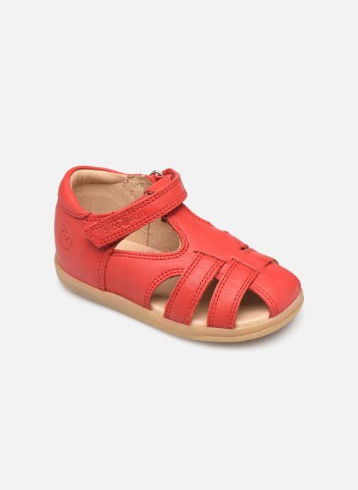 Sandales et nu-pieds Shoo Pom Pika Be Boy Rouge vue détail/paire
