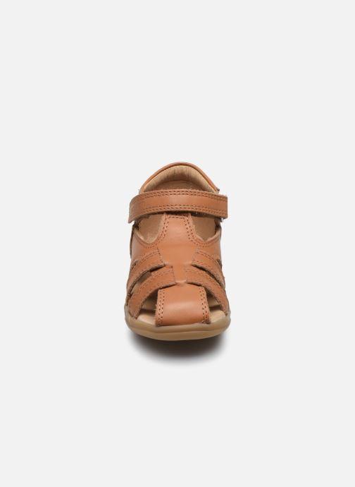 Sandales et nu-pieds Shoo Pom Pika Be Boy Marron vue portées chaussures