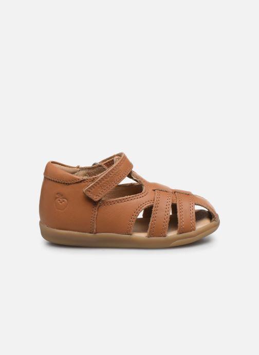 Sandales et nu-pieds Shoo Pom Pika Be Boy Marron vue derrière