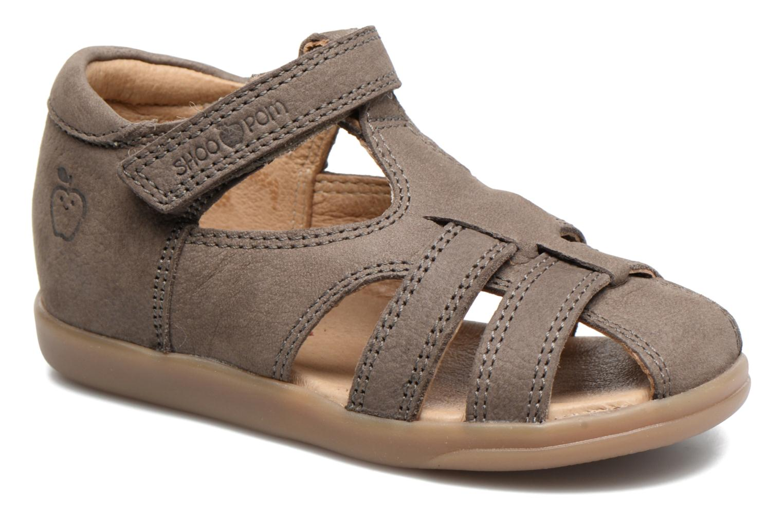Sandales et nu-pieds Shoo Pom Pika Be Boy Gris vue détail/paire
