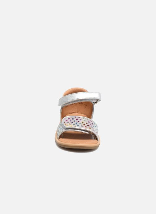 Sandals Shoo Pom Tity Scratch Silver model view