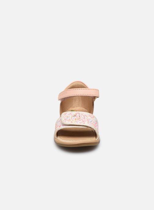 Sandales et nu-pieds Shoo Pom Tity Scratch Rose vue portées chaussures