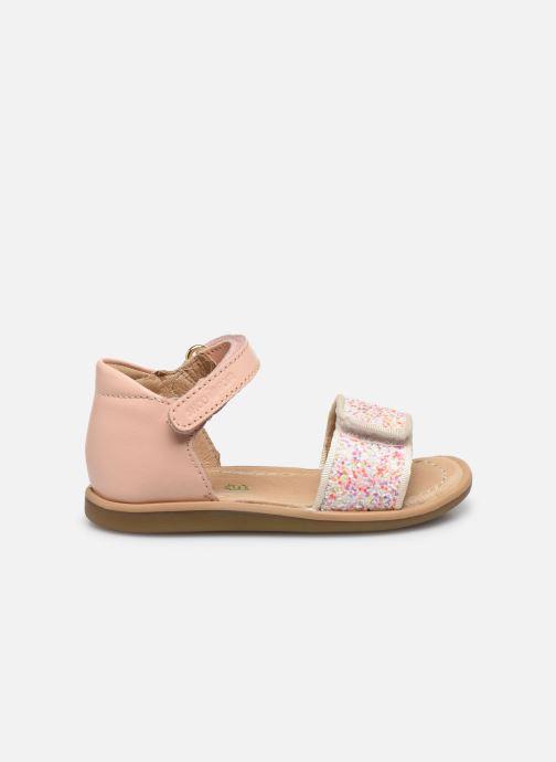 Sandales et nu-pieds Shoo Pom Tity Scratch Rose vue derrière