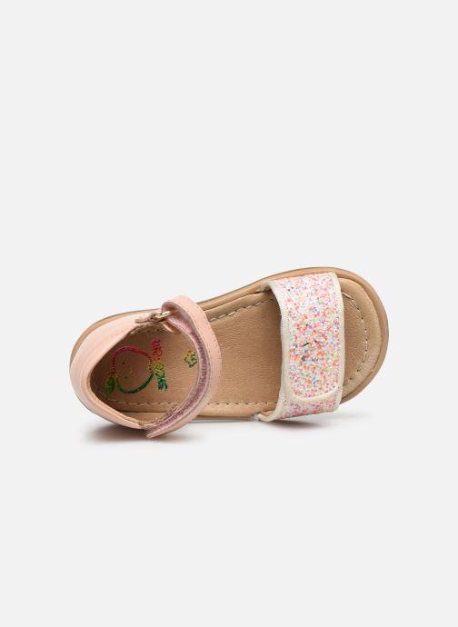 Sandales et nu-pieds Shoo Pom Tity Scratch Rose vue gauche