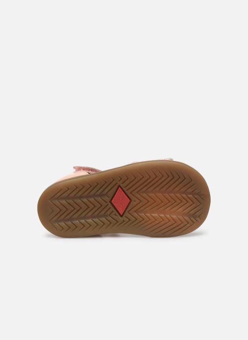 Sandales et nu-pieds Shoo Pom Tity Scratch Rose vue haut