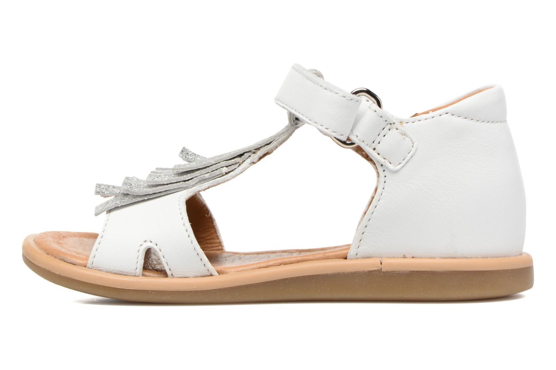 Sandales et nu-pieds Shoo Pom Wedding Nina Blanc vue face