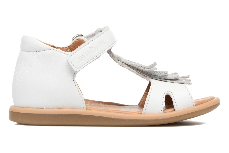 Sandales et nu-pieds Shoo Pom Wedding Nina Blanc vue derrière