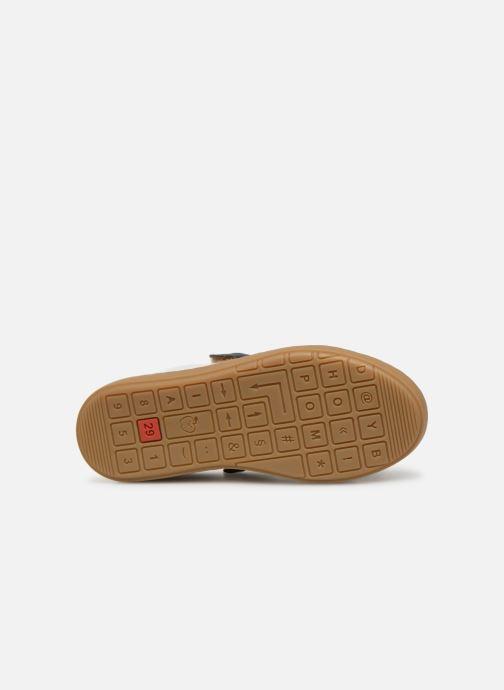 Sneaker Shoo Pom Play Lo Bi zip weiß ansicht von oben