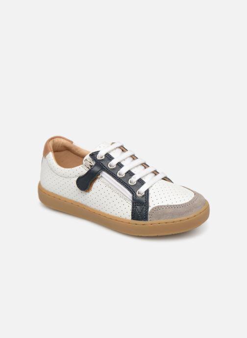 Sneaker Shoo Pom Play Lo Bi zip weiß detaillierte ansicht/modell