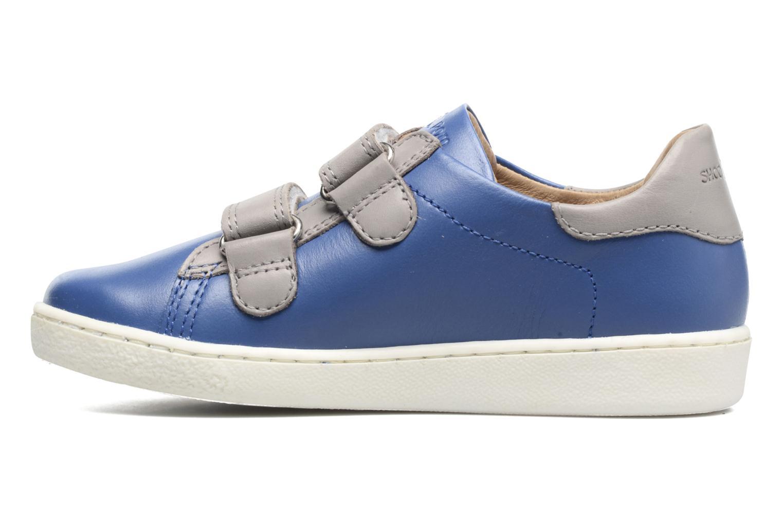 Sneakers Shoo Pom Duck Scratch Azzurro immagine frontale