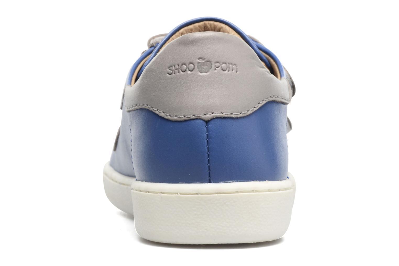 Sneakers Shoo Pom Duck Scratch Azzurro immagine destra