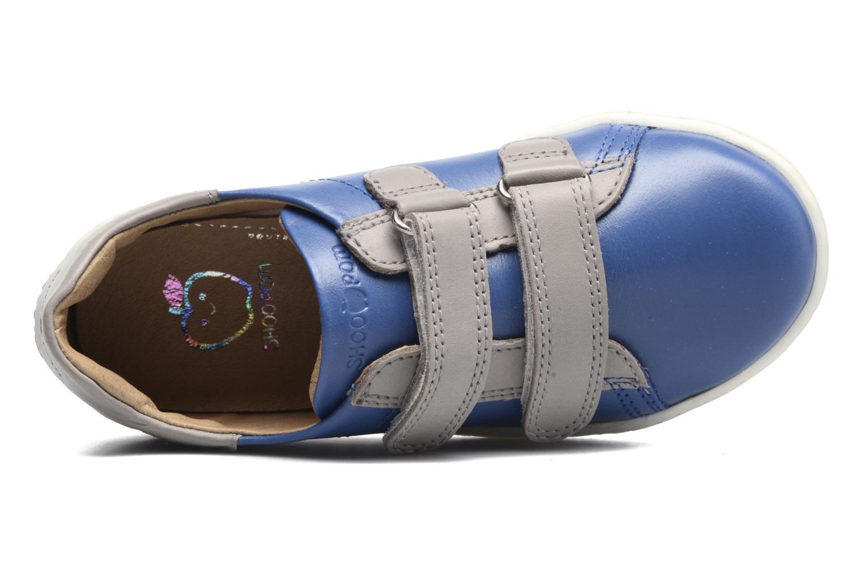Sneakers Shoo Pom Duck Scratch Azzurro immagine sinistra