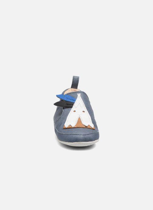 Slippers Shoo Pom Chou Tipi Blue model view