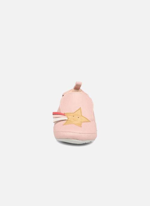 Slippers Shoo Pom chou Star Pink model view