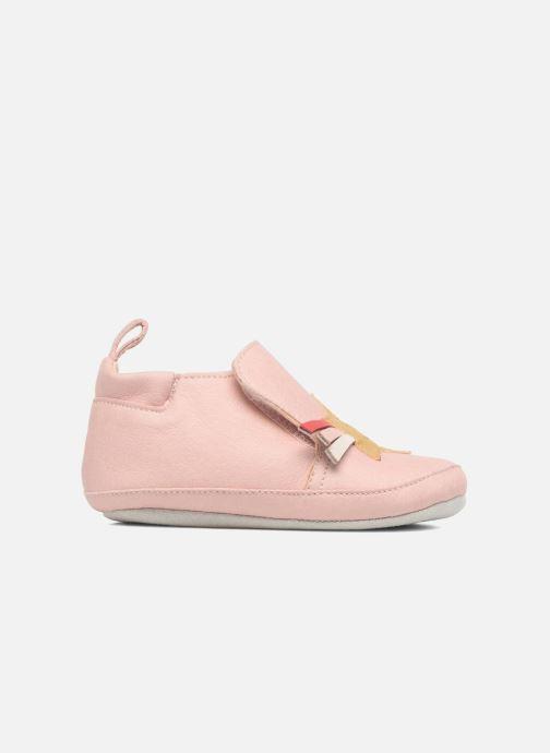 Slippers Shoo Pom chou Star Pink back view