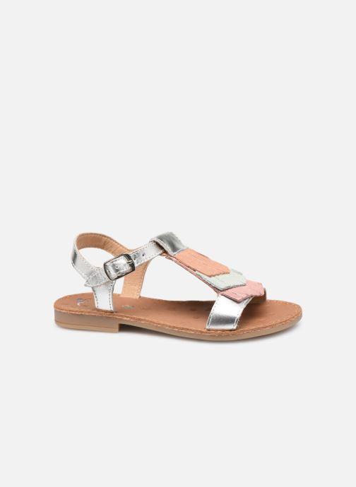 Sandales et nu-pieds Shoo Pom Happy Fringe Argent vue derrière