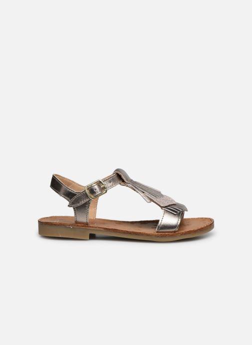 Sandales et nu-pieds Shoo Pom Happy Fringe Or et bronze vue derrière