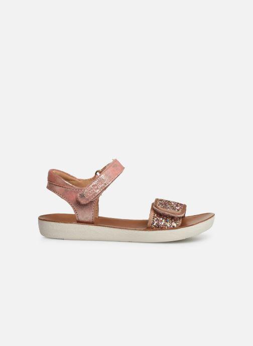 Sandali e scarpe aperte Shoo Pom Goa Scratch Piping Argento immagine posteriore
